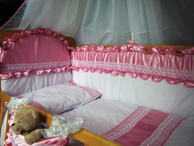 Как сшить комплект в кроватку для новорожденного своими руками 59