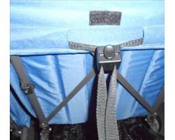 Регулятор спинки коляски ременной №9