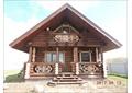 Жилой дом из бревенчатого бревна   ручной рубки по типовому проекту.