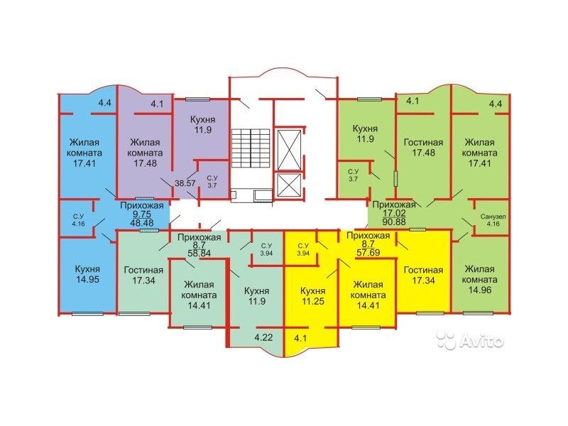Времена года планировка квартир оренбург