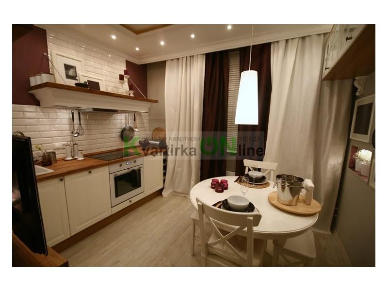 Дизайн кухни 10 кв м квадратная с