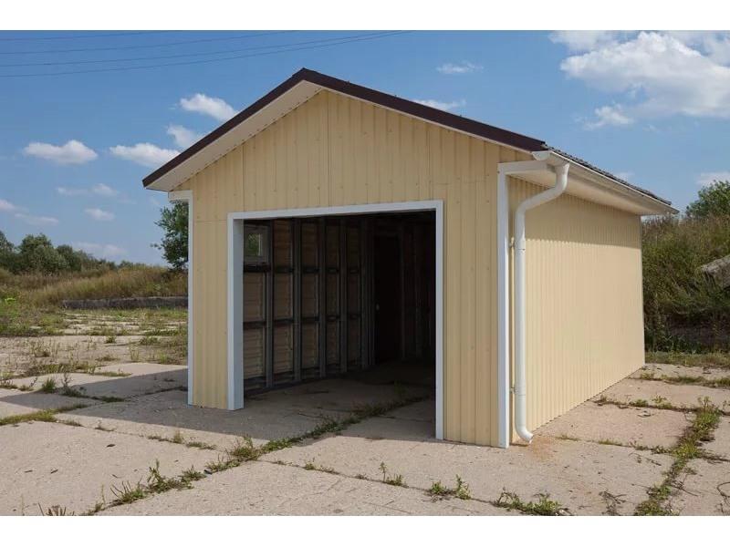 Как построить гараж дешево и быстро своими руками 80